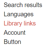 Choose Library Links