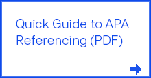 Quick Guide to APA Referencing