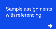 Sample assignments with referencing