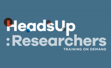 HeadsUp Researchers