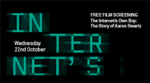 Free Film Screening - Internet's Own Boy