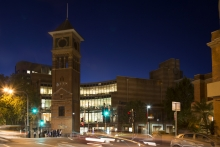 UTS Library at Night