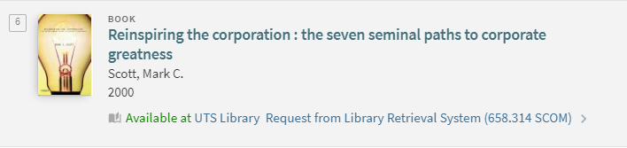 Request item from the Library Retrieval System